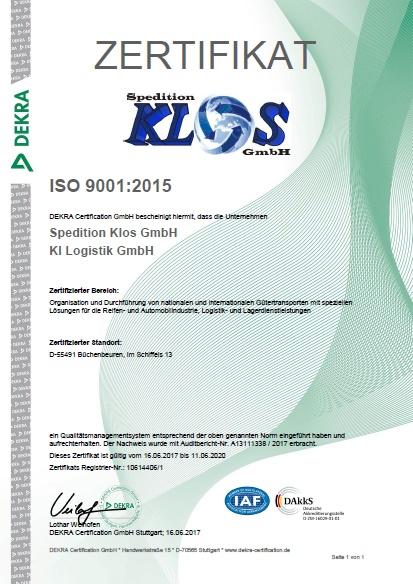 Zertifikate - ki-logistik.de